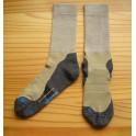Ponožky Sport Extrem Coolmax – kombinace béžové s tmavě šedou patou a špičkou